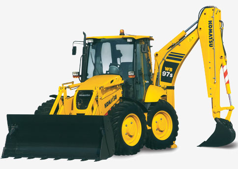 Backhoe loader WB97S